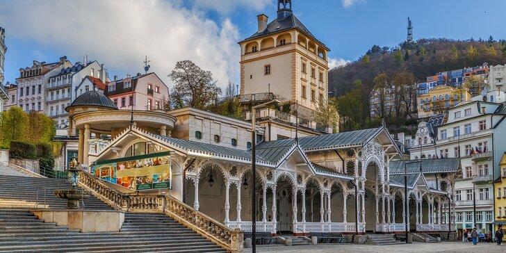 Podzimní nebo zimní lázeňský odpočinek: 3–5 dní v centru Karlových Varů