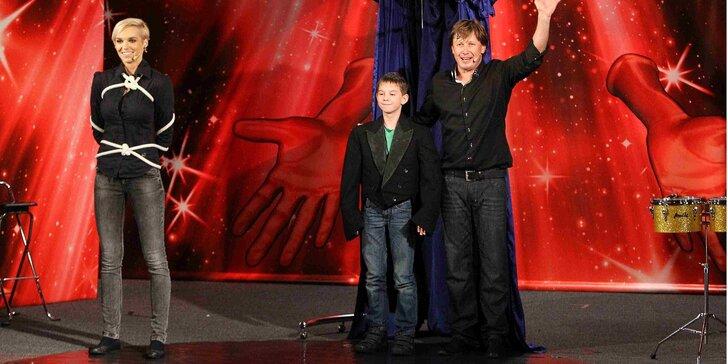 Vstupenka na Hru kouzel a magie Pavla Kožíška - představení pro děti