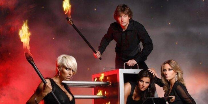 Magická esa – strhující show pro celou rodinu v Divadle kouzel