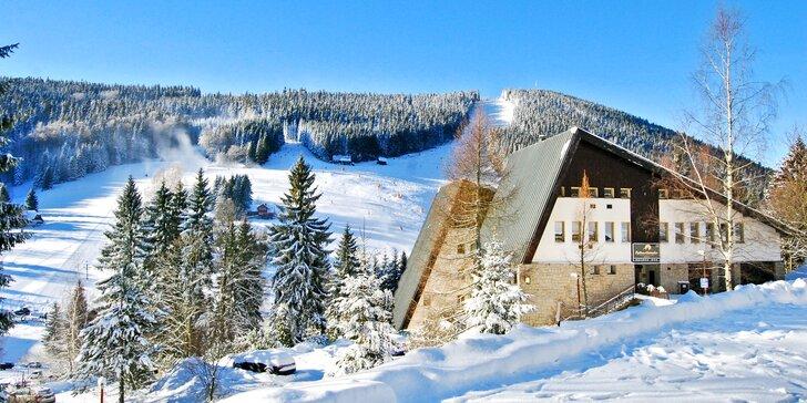 Podzim i zima v Harrachově: wellness, polopenze a skvělá lokalita pro lyžaře