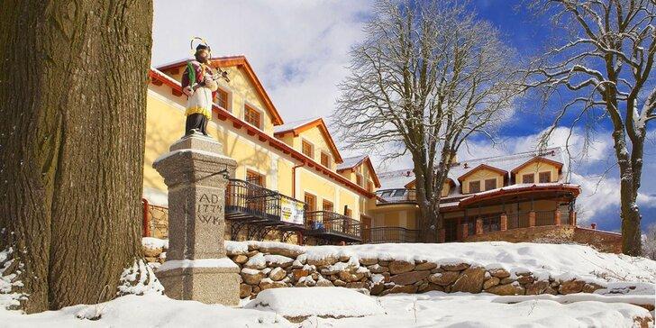Relaxace na jihu Čech: oceňovaný hotel, privátní wellness a polopenze