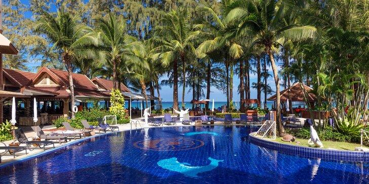 Krásný 4* hotel v Thajsku: 6–12 nocí se snídaní, 2 bazény, přímo u pláže