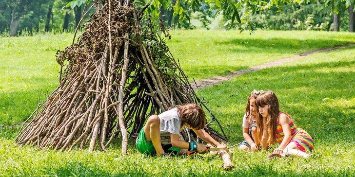 Víkendový kurz přežití pro rodiče s dětmi v Hostýnských vrších