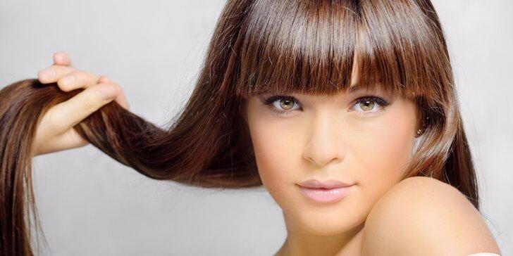 Dámský střih s masáží hlavy pro všechny délky vlasů