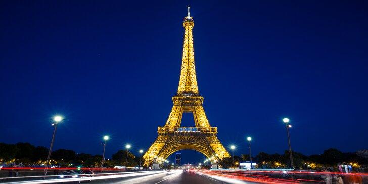 Silvestrovský výlet do kouzelné Paříže na otočku vč. prohlídky města