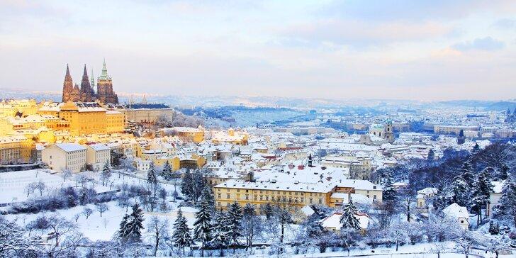 Až 3 dny ve stověžaté Praze pro dva: Bohaté snídaně i poukaz na večeři