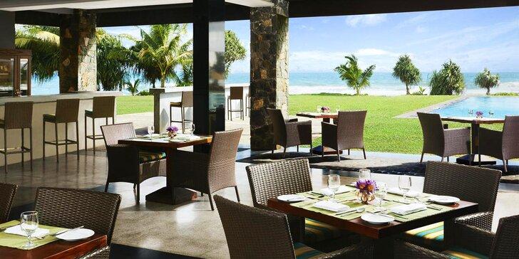 Krásný 5* resort na Srí Lance: 6–12 nocí, polopenze, bazén, 20 m od pláže
