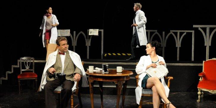 Vstupenka na divadelní představení Asanace v Žižkovském divadle