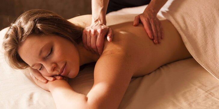 Zbavte se napětí ve svalech: 45minutová relaxační masáž zad a šíje
