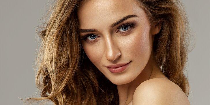 Luxusní liftingové kosmetické ošetření včetně masáže obličeje a dekoltu
