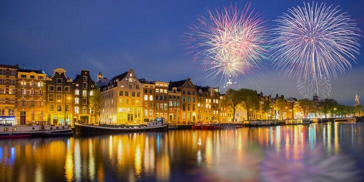 Na silvestra do Holandska: 1 noc, Haag, Delft i ohňostroje v Amsterdamu