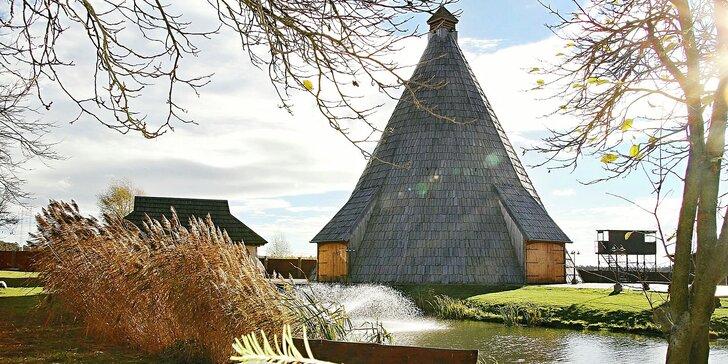Relax v resortu Vigvam s privátním wellness, polopenzí i degustací vín