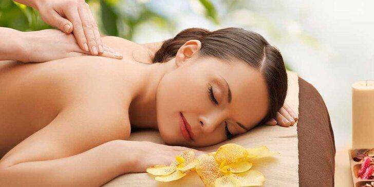 Zasloužený odpočinek: relaxační masáž včetně aromaterapie