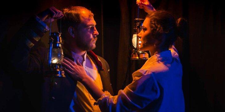 Vstupenka na divadelní hru Petrolejové lampy v Divadle Kámen