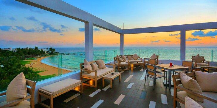 Nádherný 4* resort na Srí Lance: 6–12 nocí, polopenze, 2 bazény, na pláži