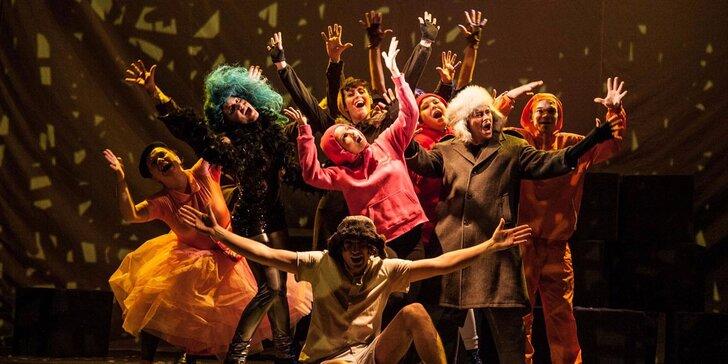Vstupenka na dětský muzikál Mauglí v divadle Gong