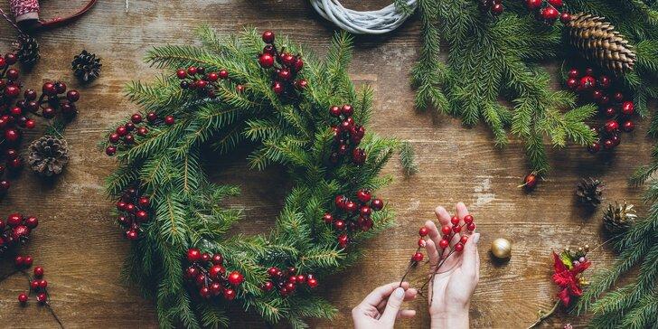Hřejivé zdobení: workshop zimní a vánoční dekorace do interiéru i exteriéru