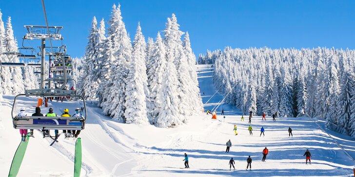 3 nebo 6 dní s polopenzí na Božím Daru kousek od skiareálu Klínovec