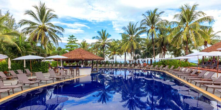 4* resort v exotickém Thajsku: 6–12 nocí se snídaní, u nejhezčí pláže Phuketu