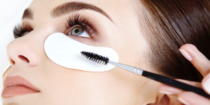 Nádherné řasy díky lash lifting s kúrou na řasy lash botox