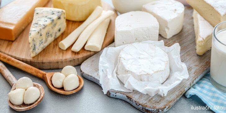 Připravte si chutný sýr: víkendový kurz domácí výroby sýrů na rodinné farmě