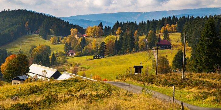 Za krásami Valašska od podzimu do jara: pobyt s polopenzí v Beskydech pro 2