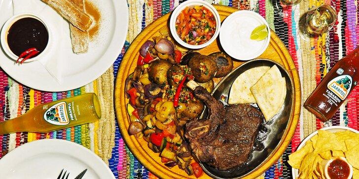 Ochutnejte pravé Mexiko: tříchodové menu i s digestivem pro dvě osoby