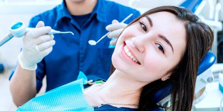 Komplexní důkladná dentální hygiena: odstranění kamene i šetrné air flow