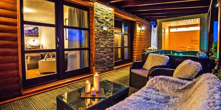 Relaxační pobyt pro dva v Moravském krasu s privátním wellness a polopenzí