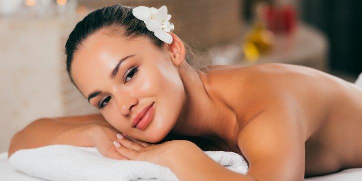 Luxusní balíček: 80 minut relaxace s masáží v Royal Jasmine Spa