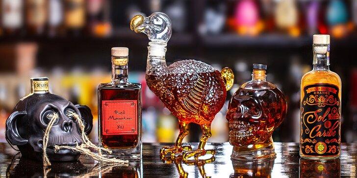 Degustace prvotřídních rumů pro dva ve VIP klubu restaurace Havana