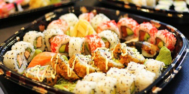 Japonsko v Ostravě: 13, 32 i 43 ks sushi s tuňákem, olihní i hřebenatkou