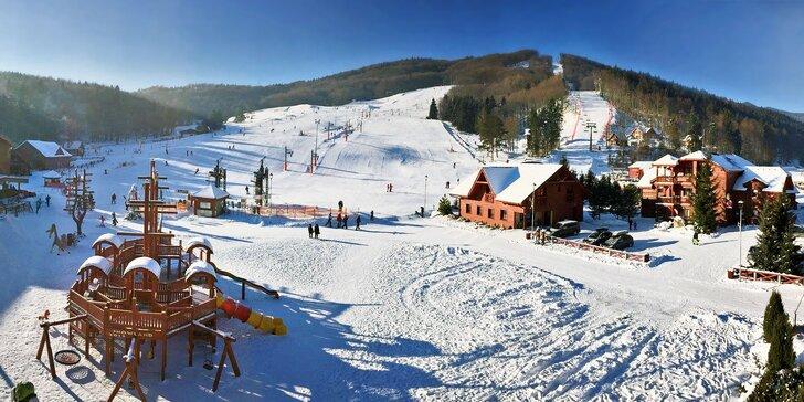Celosezónní skipas do areálu Snowland Valčianska dolina pro děti i dospělé