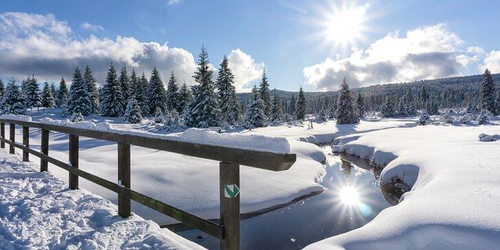 3denní pobyt v chalupě se saunou v Jizerských horách až pro 13 osob