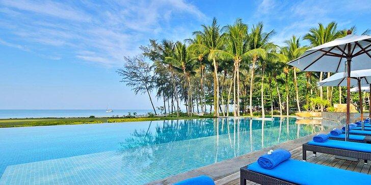 Přepychový 5* resort v Thajsku: 6–12 nocí, snídaně, 2 bazény, přímo na pláži