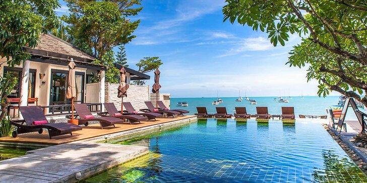 Krásný 3* resort v Thajsku: 6–12 nocí, snídaně, bazén, přímo u pláže