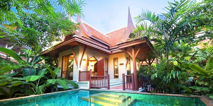 Exotický 4* resort v Thajsku: 6–12 nocí, snídaně, bazén s vířivkou, u pláže