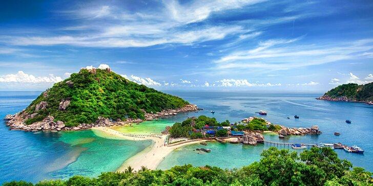 Poznávací zájezd do Thajska: letenka, 14 nocí se snídaní a český průvodce