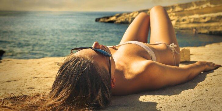 Ať neztratíte letní bronz: permanentka na 60 a 180 minut v soláriu
