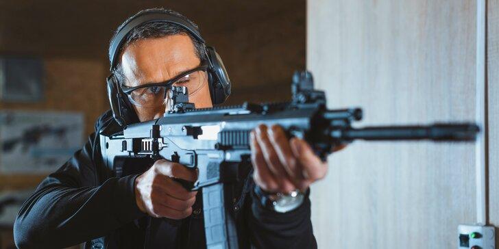 Střelecké balíčky: pistole, pušky, revolvery, samopaly - 25 až 100 nábojů