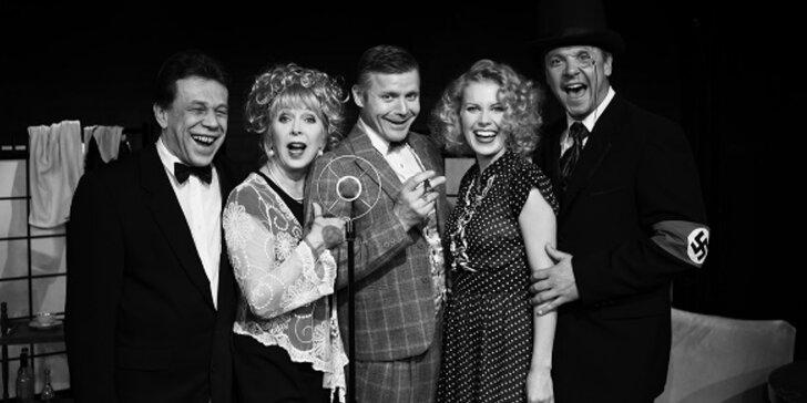 Vstupenka na představení Zavřete oči, swing přichází... v divadle v Řeznické