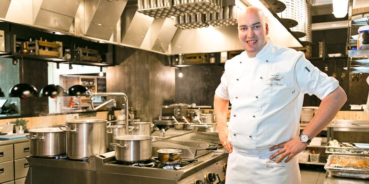 Mistrem kuchyně: kurzy vaření s Ondřejem Slaninou v Chateau St. Havel