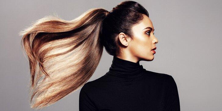 Střih a melír či balayage pro všechny délky vlasů