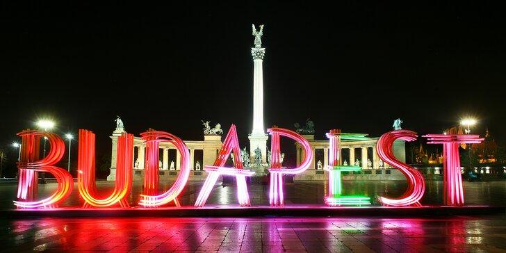 Jednodenní výlet za nejkrásnějšími památkami do Budapešti na Silvestra