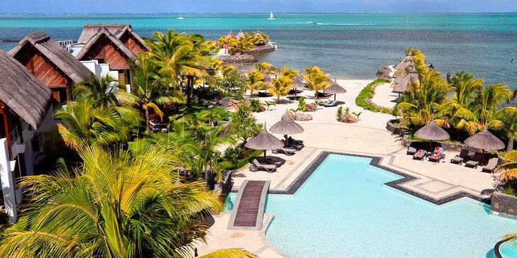 Pravá exotika v 4* resortu na Mauriciu: 6–12 nocí, polopenze, přímo u pláže