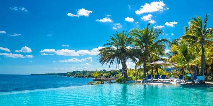 4* resort na Mauriciu: 6–12 nocí, polopenze, 2 bazény, přímo u pláže