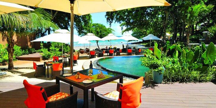Exotický 4* hotel na Mauriciu: 6–12 nocí, polopenze, 2 bazény, přímo u pláže