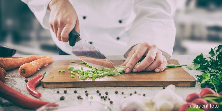 Kurz s Janem Rimplerem: připravte 5chodové menu jako francouzský šéfkuchař
