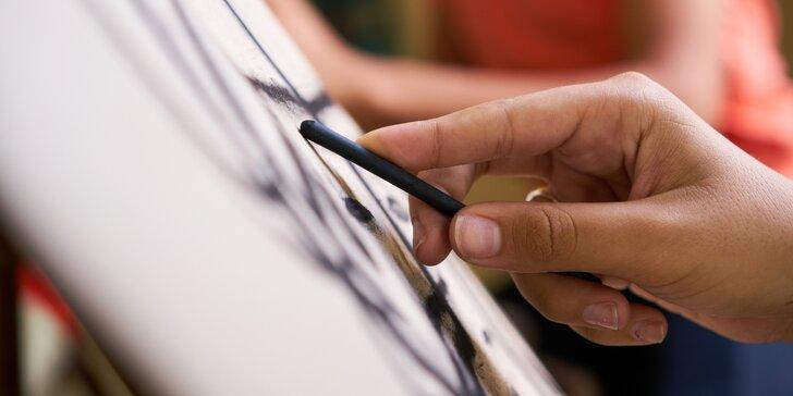 Základy kresby u malířského stojanu pro děti i dospělé