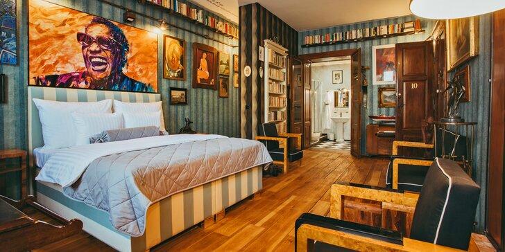 Romantika v Banské Štiavnici: galerijní ubytování a exkluzivní snídaně pro 2